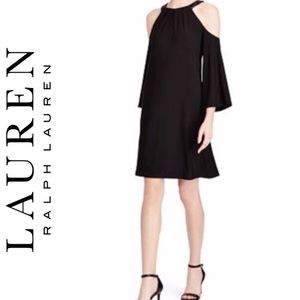 NWT Lauren Ralph Lauren Sequin-Trim Dress